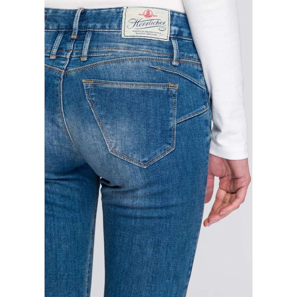 Herrlicher 7/8-Jeans »BABY CROPPED«, mit leichtem Push-Up-Effekt