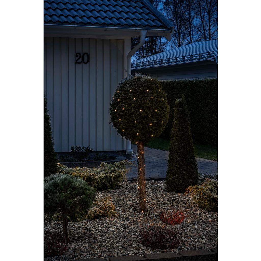 KONSTSMIDE LED Tropfenlichterkette, Draht