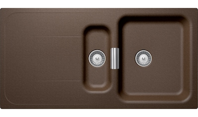 SCHOCK Granitspüle »Wembley D - 150«, mit Restebecken, 100 x 51 cm kaufen