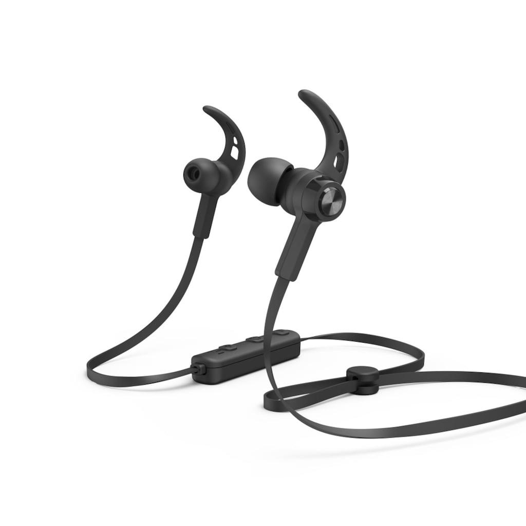 Hama In-Ear Bluetooth Ohrhörer, kabelloses Headset mit Mikrofon