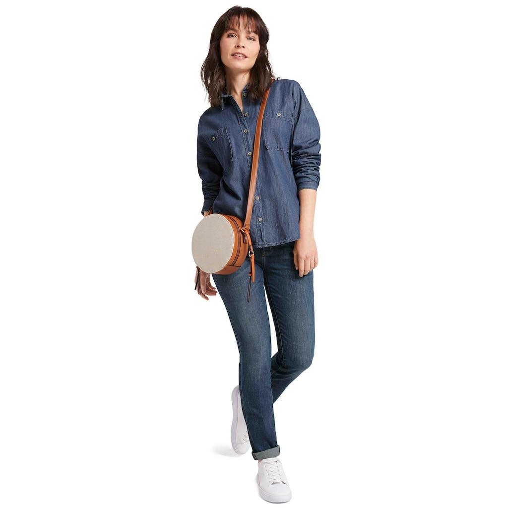 TOM TAILOR Straight-Jeans »Alexa«, mit leichten Used-Effekten
