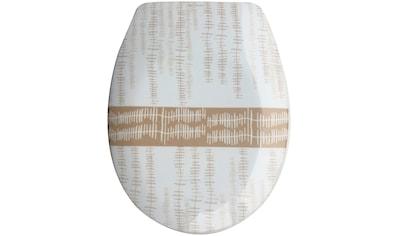 MSV WC-Sitz »ONS«, Duroplast, mit Softclose kaufen