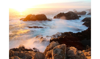 Papermoon Fototapete »Sunset on Big Sur Coast« kaufen