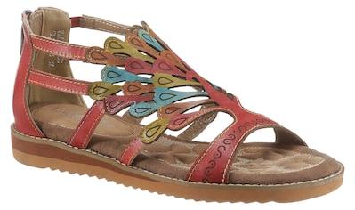 LAURA VITA Sandale »VACA«, mit Fersenreißverschluss kaufen