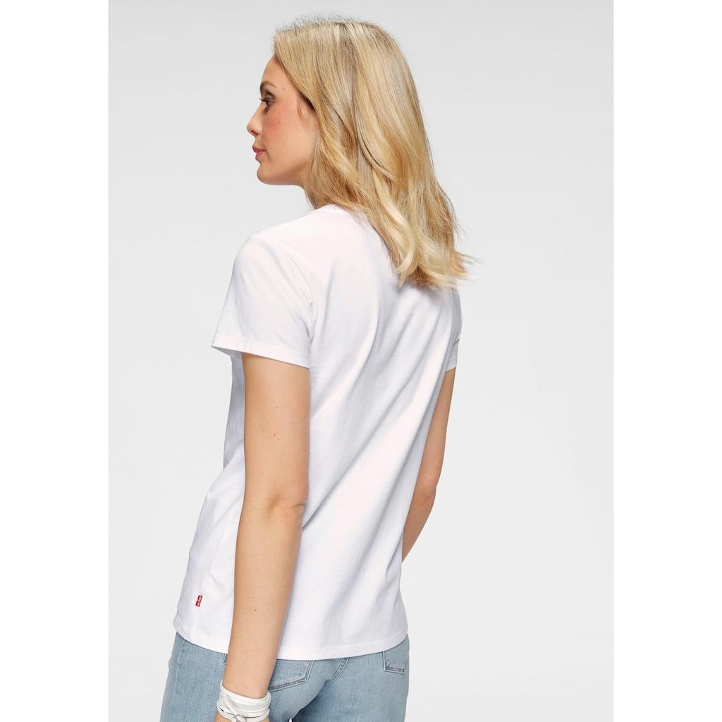 Levi's® T-Shirt »The Perfect Tee«, mit Print vorne
