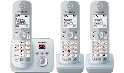 Panasonic »TG6823G Trio« Schnurloses DECT - Telefon (Mobilteile: 3) kaufen