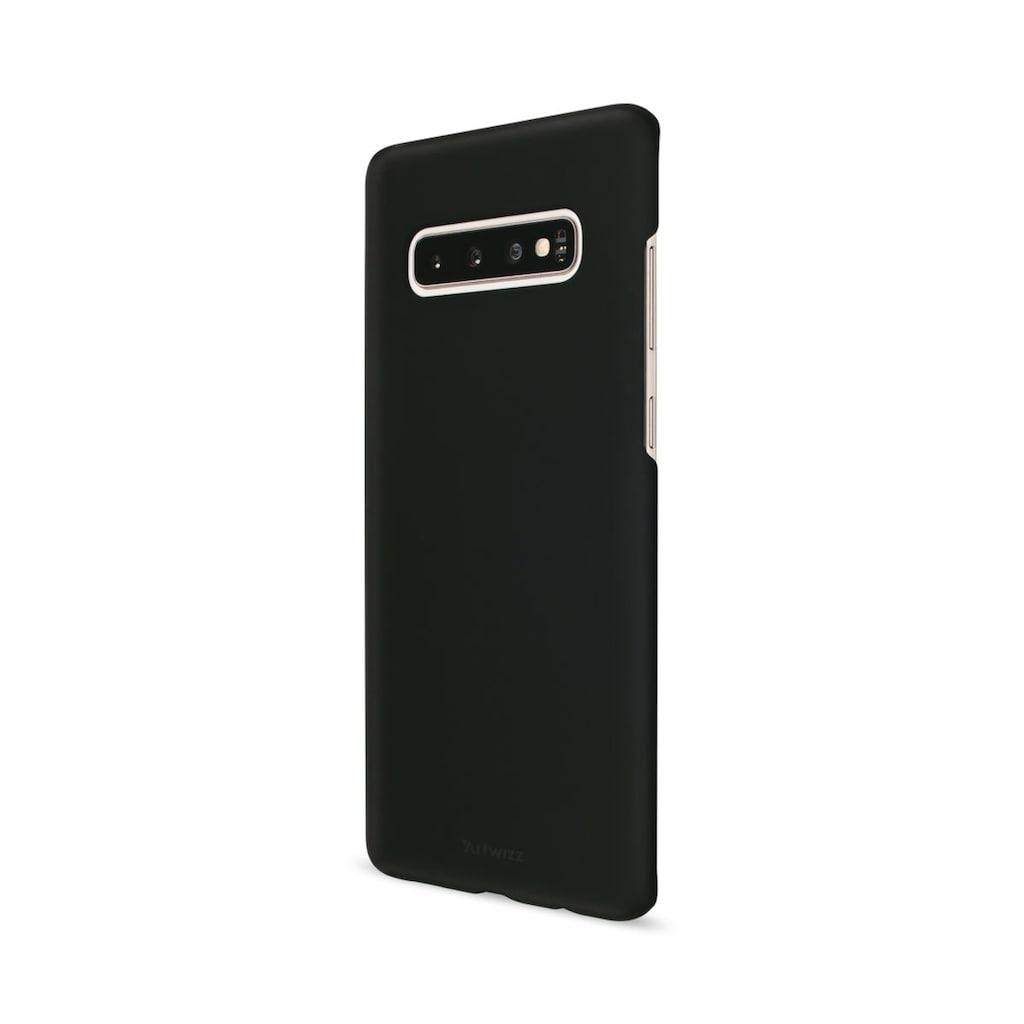 Artwizz Schlankes Rückseitencase für Samsung Galaxy S10 Plus »Rubber Clip«