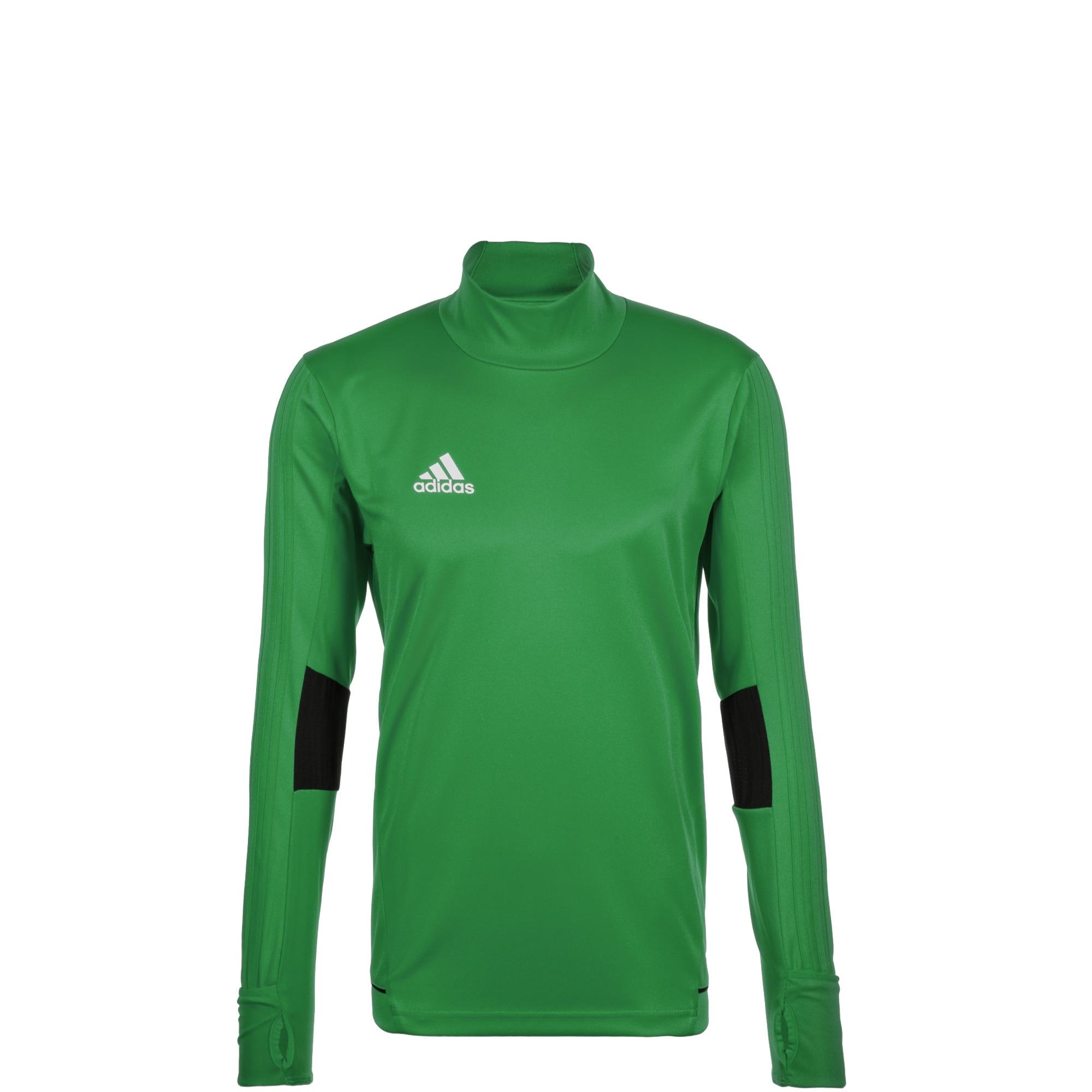 adidas Performance Longsleeve Tiro 17 grün Kinder Langarm Shirts Jungenkleidung