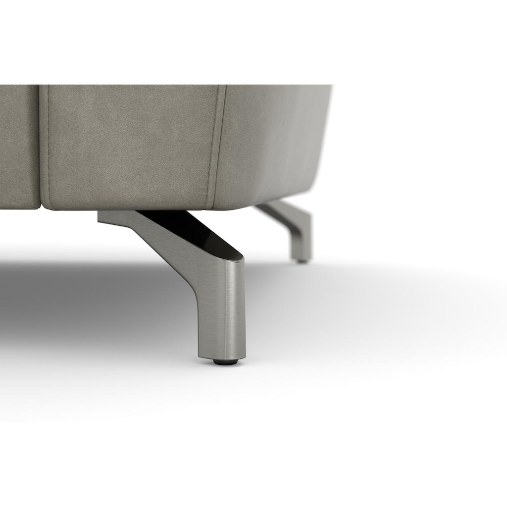 sit&more Ecksofa, inklusive Kopfteilverstellung, wahlweise mit Bettfunktion und Bettkasten