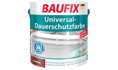 BAUFIX Acryl Buntlack »Universal - Dauerschutzfarbe«, nussbraun, 2,5 L kaufen