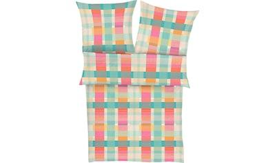 Zeitgeist Bettwäsche »Canillo«, mit Karos kaufen