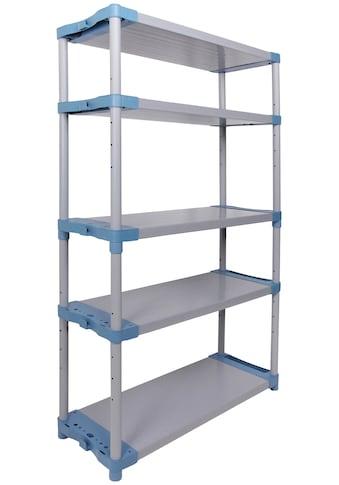 ONDIS24 Steckregal »Maxim UP 140«, (1 St.), 5 Fachböden, Kunststoff kaufen