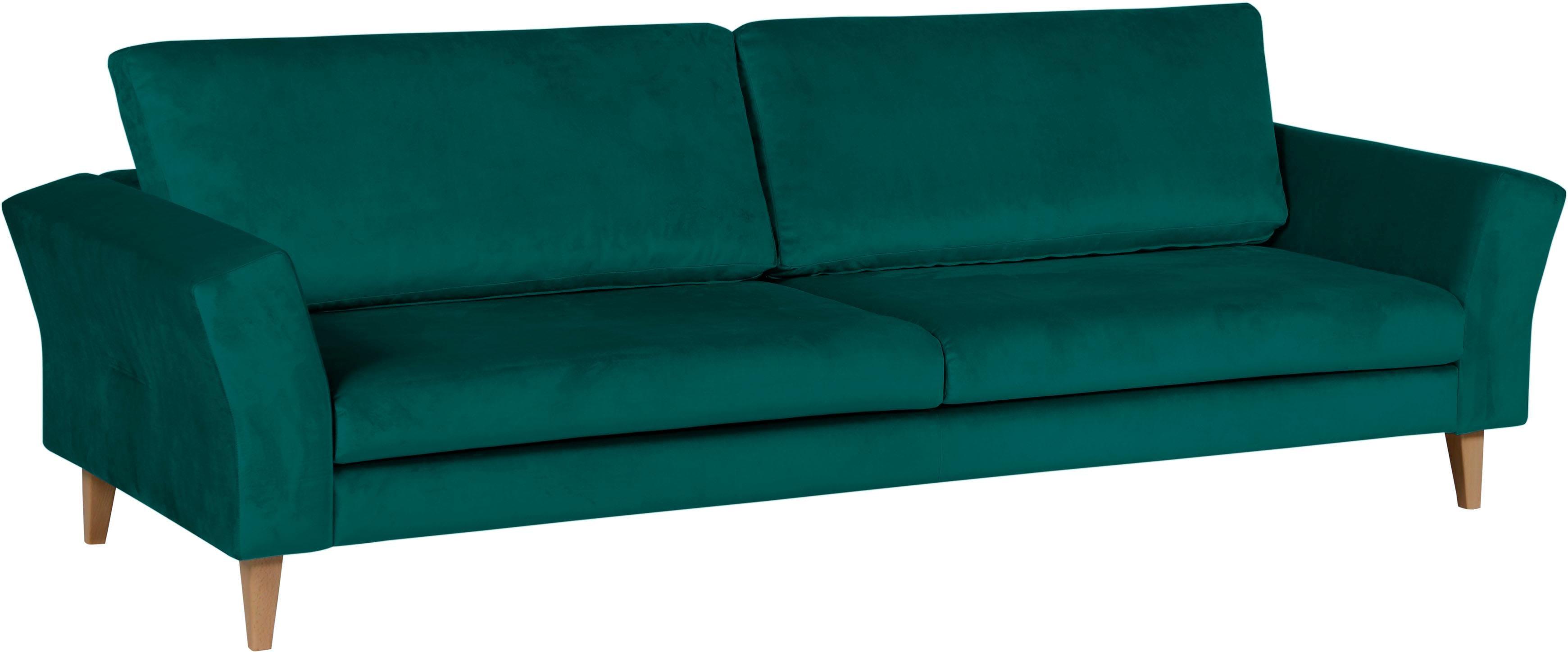Alte Gerberei 3-Sitzer Sofa »Tibald« mit geschwungenen Armlehnen