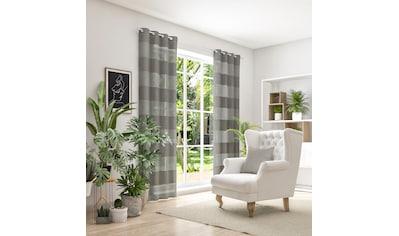 Neutex for you! Vorhang »SONORA«, 3D Musterung im Leinen-Look kaufen