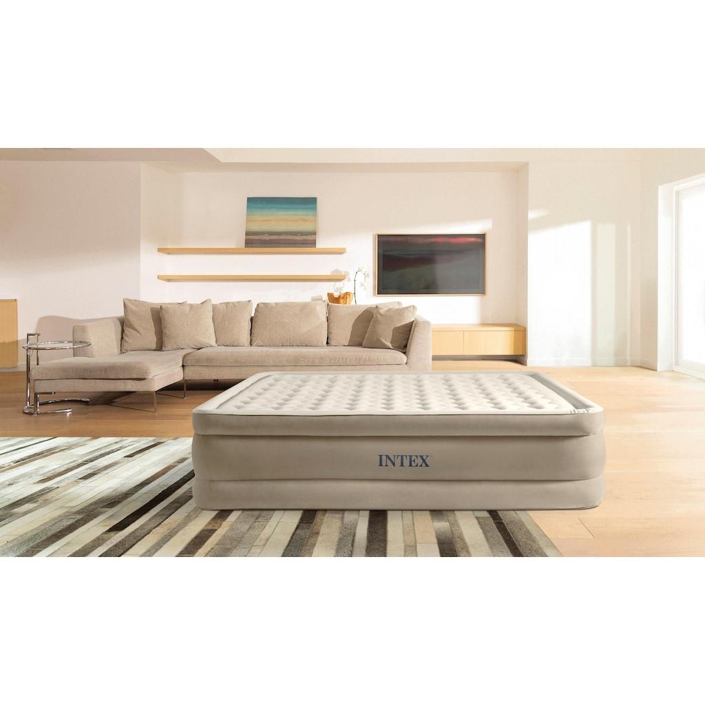 Intex Luftbett »DURA-BEAM® UltraPlush Airbed«, (Set, 2, mit Transporttasche)