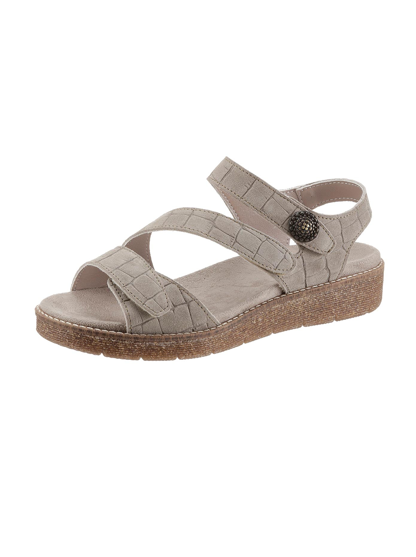 Aco Sandalette grün Damen Sandaletten Sandalen