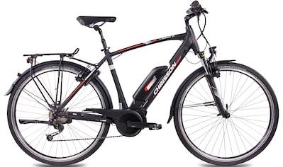 Chrisson E - Bike »E - Rounder Gent 9S«, 9 Gang Shimano Deore RD - M592 Schaltwerk, Kettenschaltung, Mittelmotor 250 W kaufen