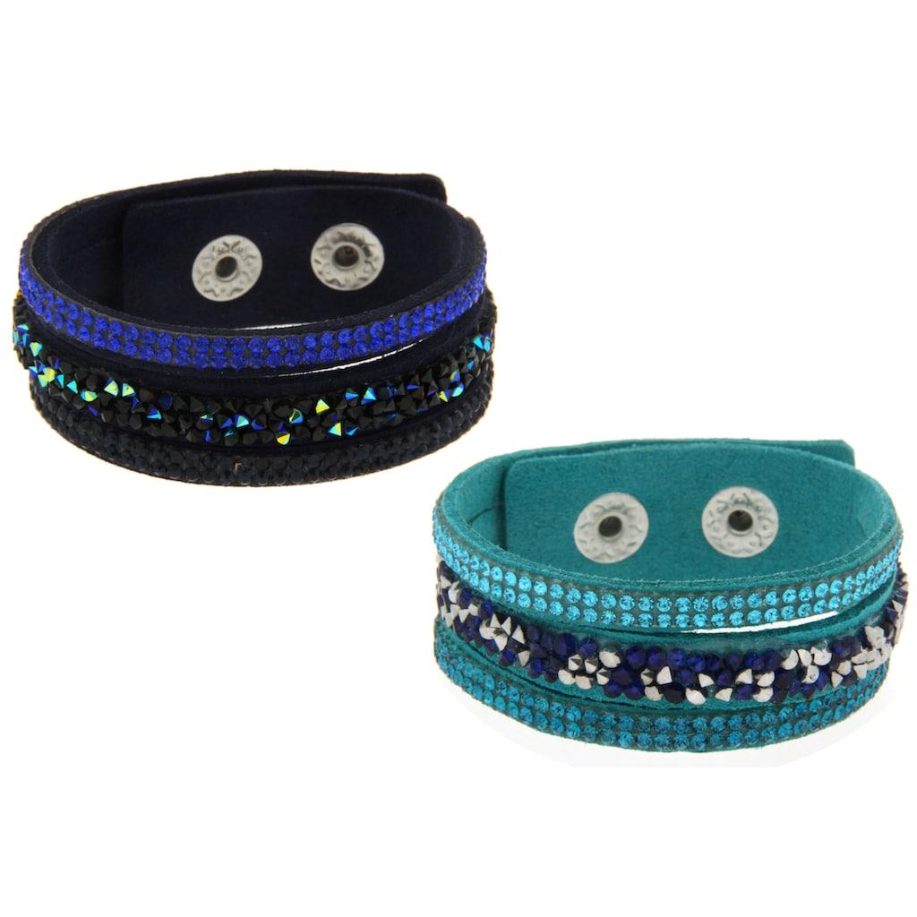 La Piora Armband »Armband Set«, türkis & dunkelblau
