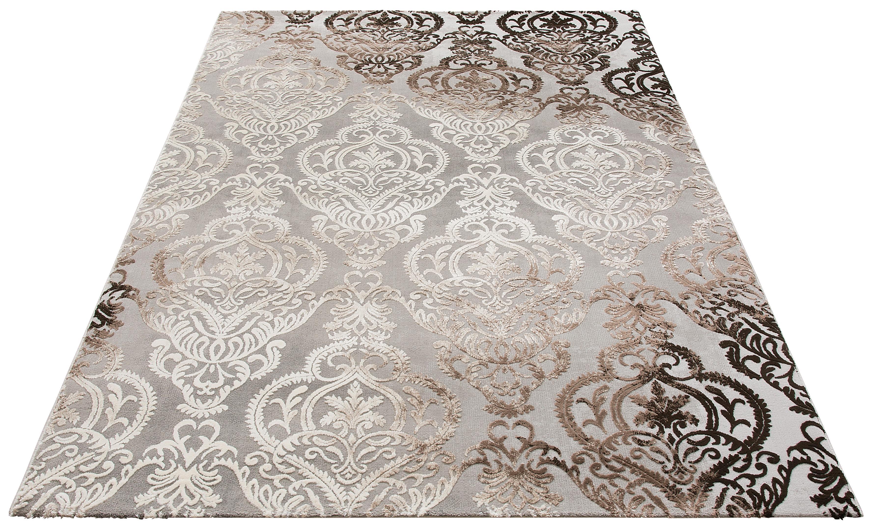 Teppich Bahar merinos rechteckig Höhe 12 mm maschinell gewebt