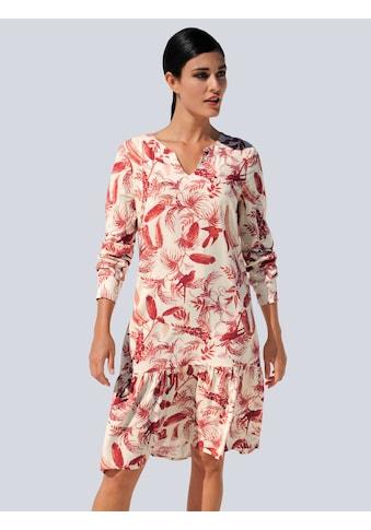 Alba Moda Druckkleid, mit modischem Tropical-Dessin kaufen
