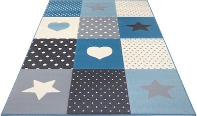 HANSE Home Kinderteppich »Pretty Patchwork«, rechteckig, 9 mm Höhe kaufen