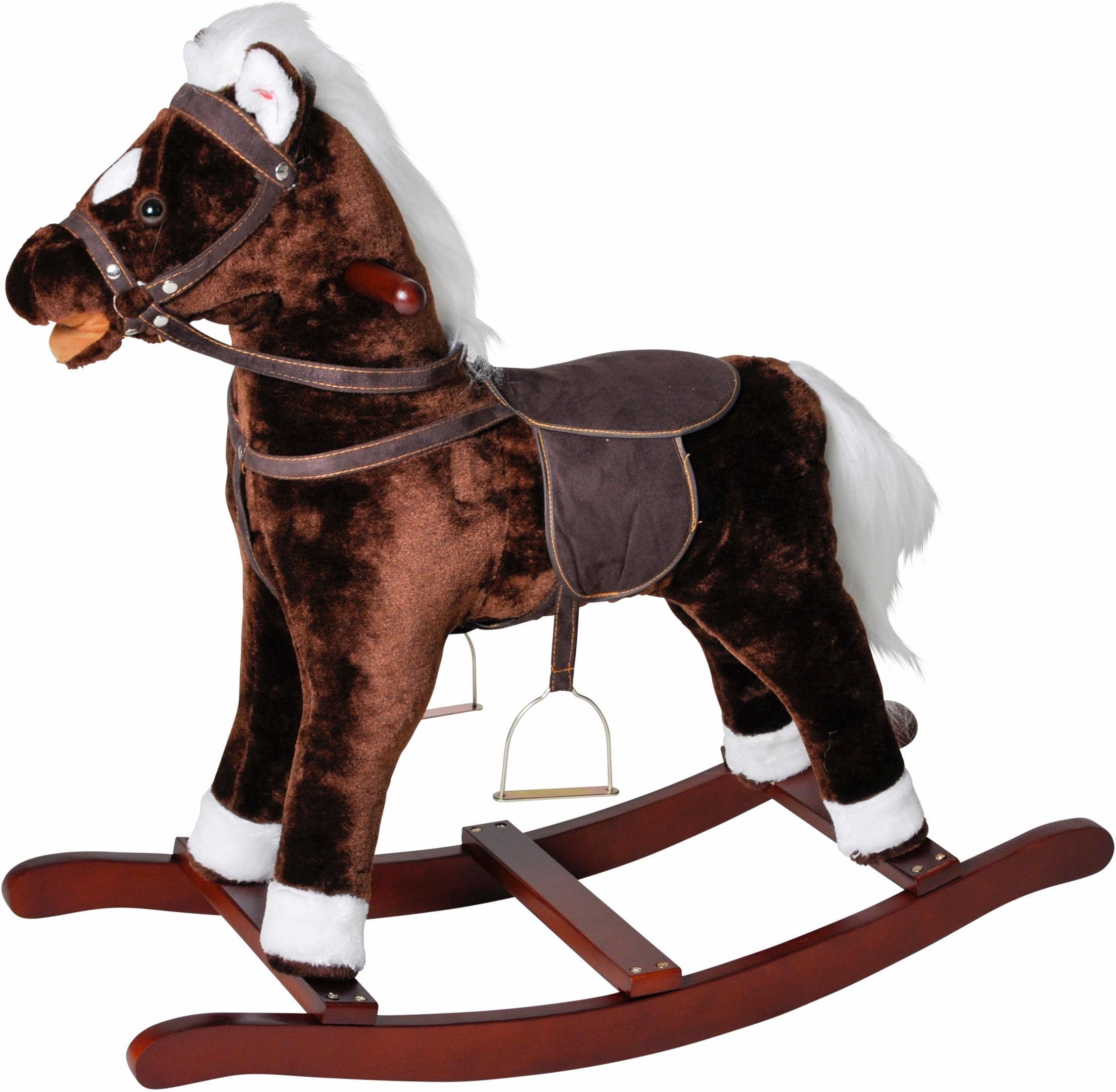 Knorrtoys Schaukelpferd ´´Brauny´´   Kinderzimmer > Spielzeuge > Schaukeln & Rutschen   Braun   Knorr Toys