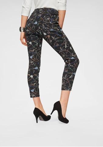 MAC Skinny - fit - Jeans »Skinny - Chain Print« kaufen
