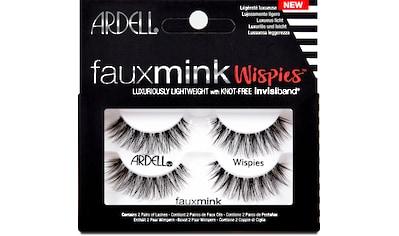 ARDELL Bandwimpern »Faux Mink Wispies Twin Pack«, 2 Paar aus seidigem Synthetik kaufen