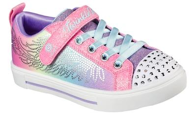 Skechers Kids Sneaker »Blinkschuh TWINKLE SPARKS«, mit blinkender Schuhspitze kaufen