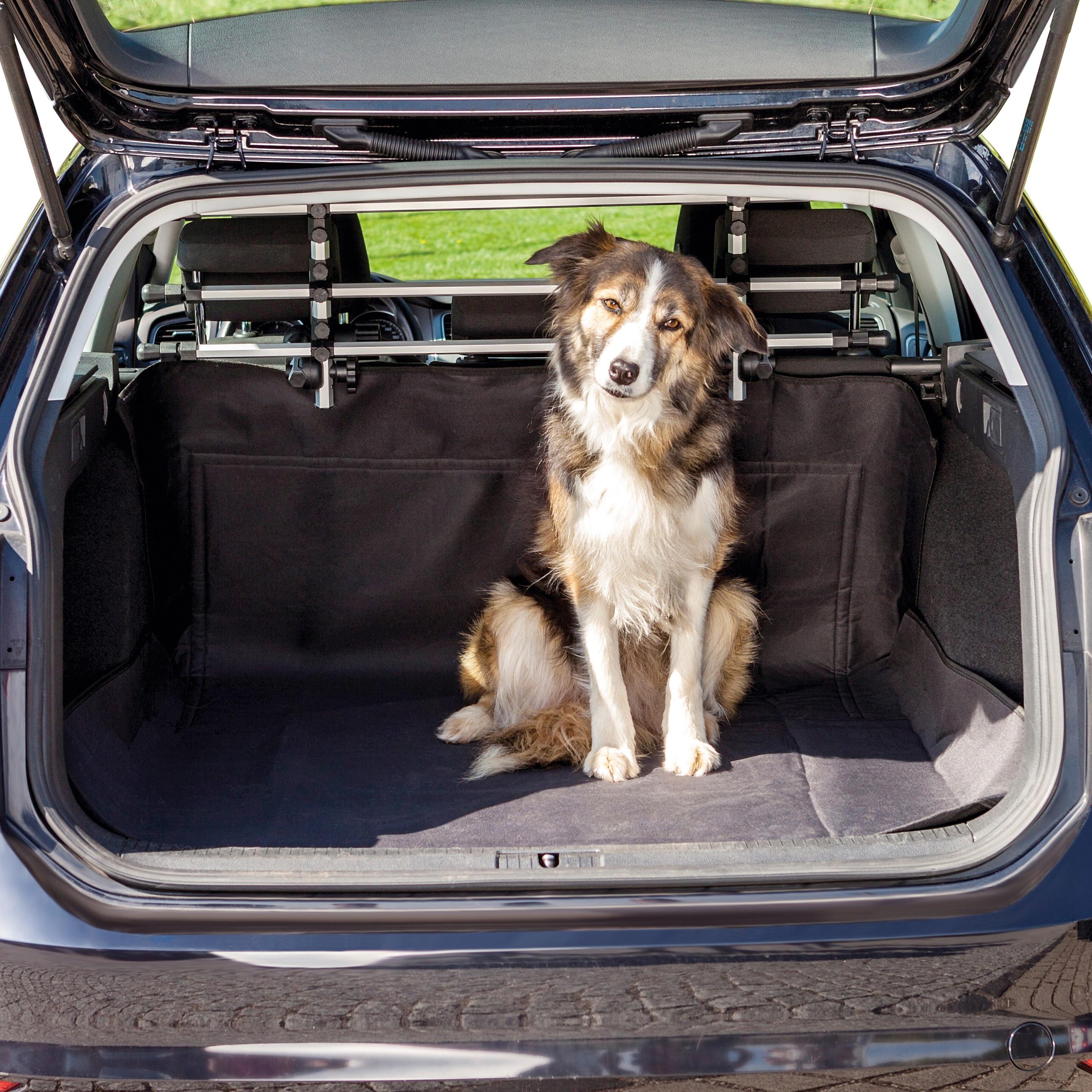 TRIXIE Tier-Kofferraumdecke, BxL: 120x150 cm schwarz Tier-Kofferraumdecke Hundebetten -decken Hund Tierbedarf