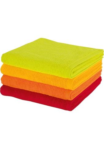 Möve Duschtuch »Elements«, (1 St.), in leuchtenden Farben kaufen