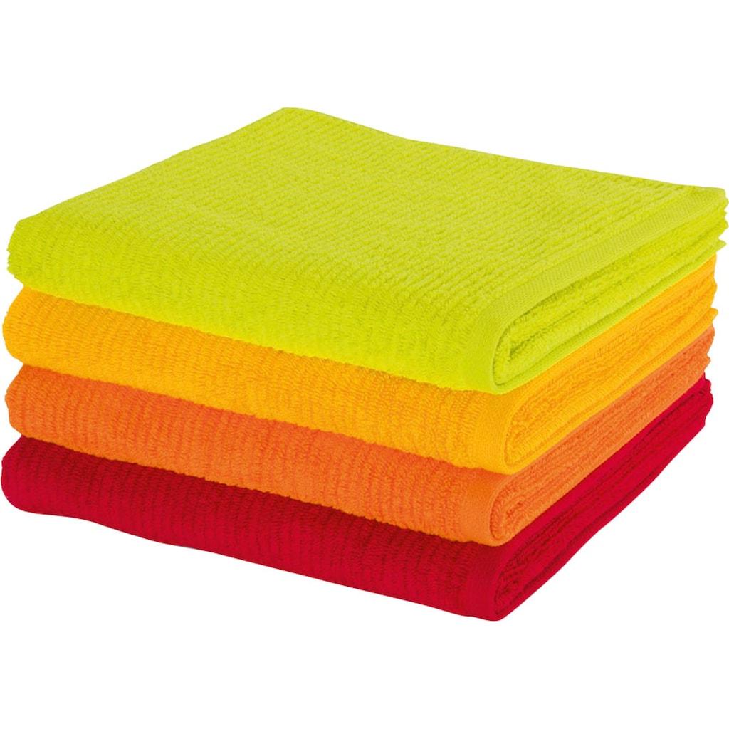 Möve Duschtuch »Elements«, (1 St.), in leuchtenden Farben