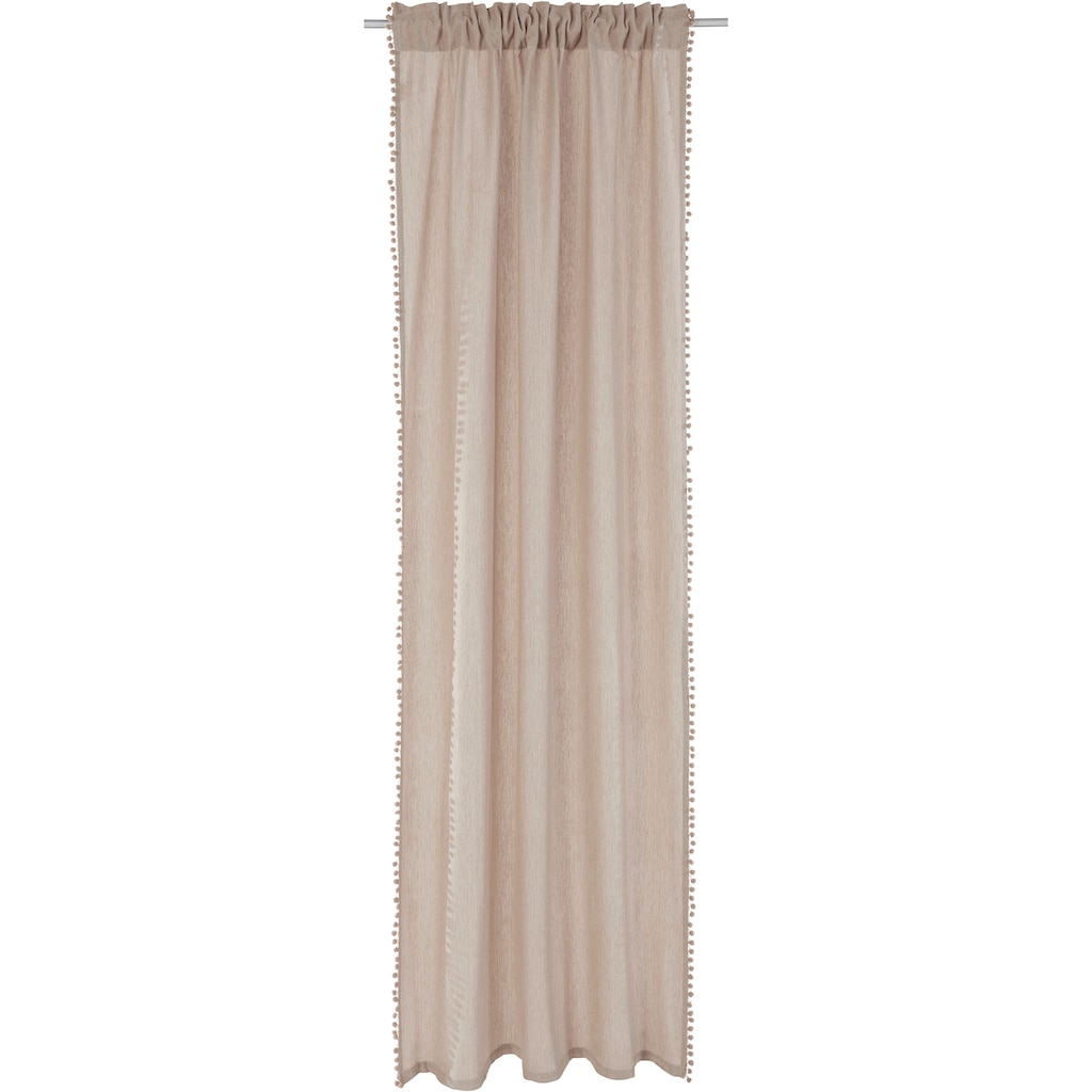 COUCH♥ Vorhang »Mit Anhang«, COUCH Lieblingsstücke