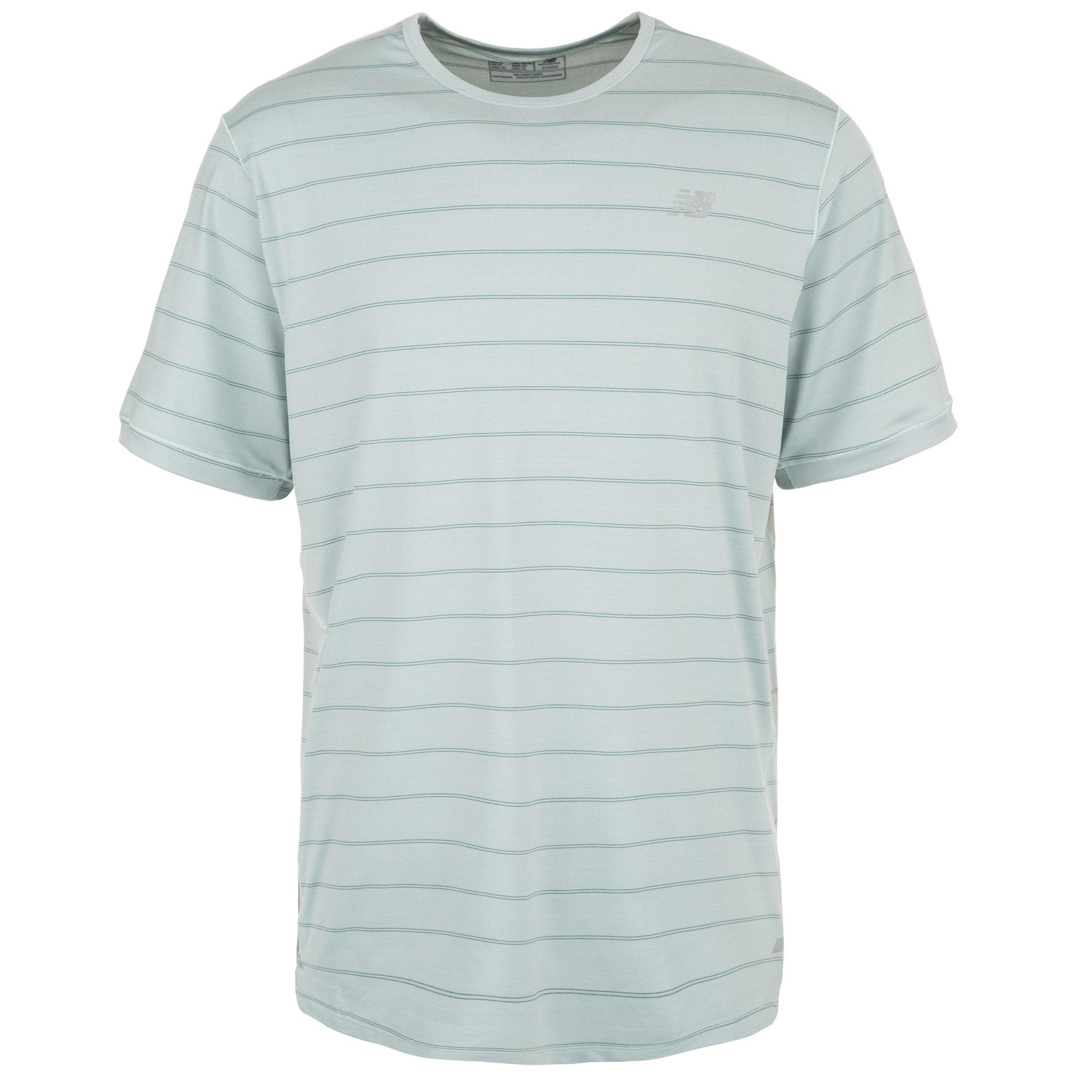 New Balance Laufshirt Seasonless | Sportbekleidung > Sportshirts | Grün | Ab | New Balance