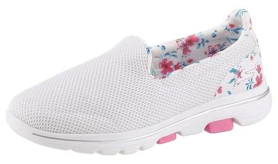 Skechers Slip-On Sneaker »Go Walk 5«, mit Blumenprint kaufen