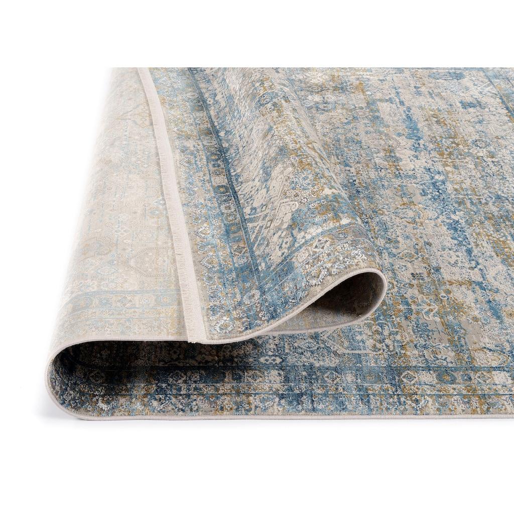 OCI DIE TEPPICHMARKE Teppich »BESTSELLER TADI«, rund, 8 mm Höhe, Wohnzimmer