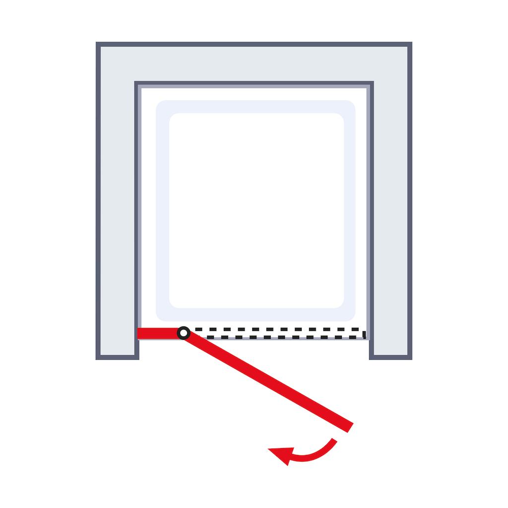 Schulte Drehtür »MasterClass«, BxH: 80 x 200 cm