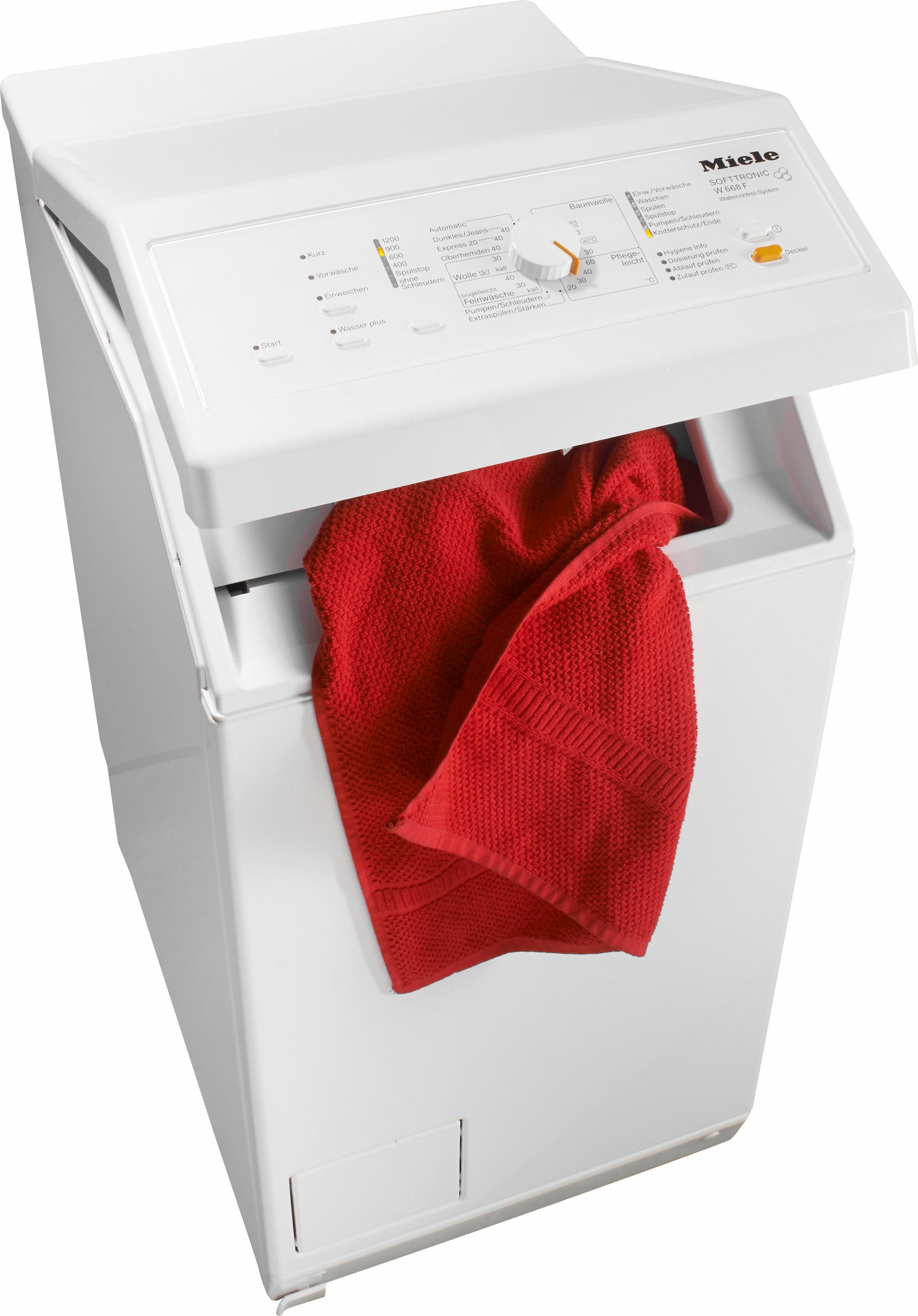 Miele Waschmaschine Toplader W 668 F WCS | Bad > Waschmaschinen und Trockner > Toplader | Weiß | Miele