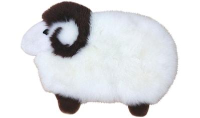Fellteppich, »Sheep«, Heitmann Felle, Motivform, Höhe 40 mm, gegerbt kaufen