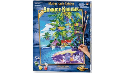 Schipper Malen nach Zahlen »Meisterklasse Premium - Sonnige Karibik«, Made in Germany kaufen