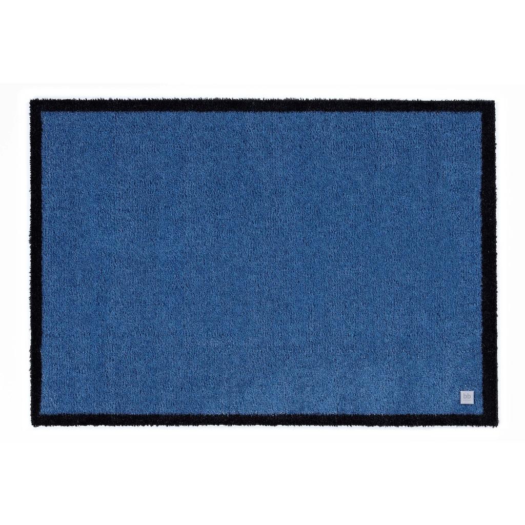 Barbara Becker Fußmatte »Touch«, rechteckig, 10 mm Höhe, Fussabstreifer, Fussabtreter, Schmutzfangläufer, Schmutzfangmatte, Schmutzfangteppich, Schmutzmatte, Türmatte, Türvorleger, In- und Outdoor geeignet, waschbar