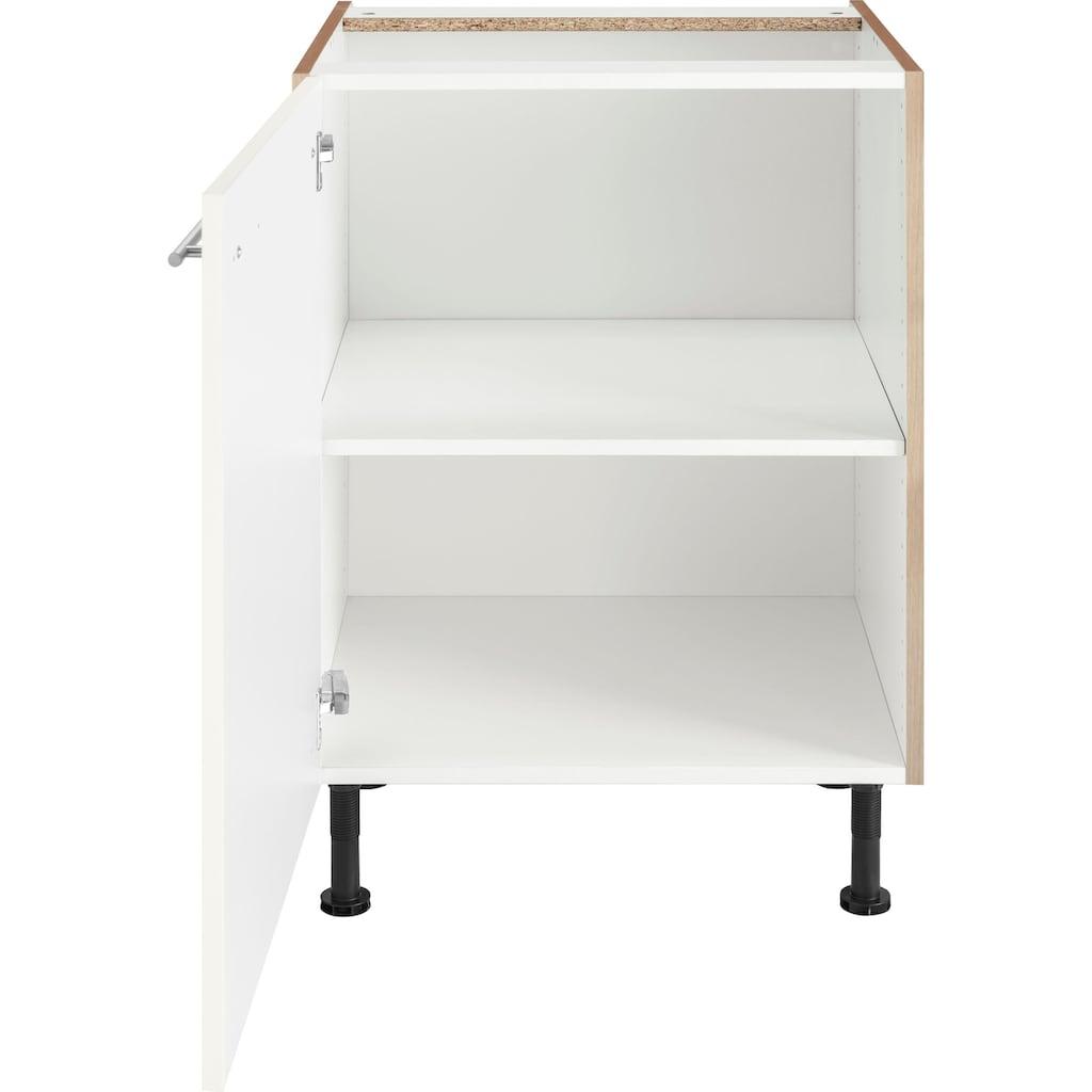 OPTIFIT Unterschrank »Bern«, 60 cm breit, mit 1 Tür mit höhenverstellbaren Füßen, mit Metallgriff