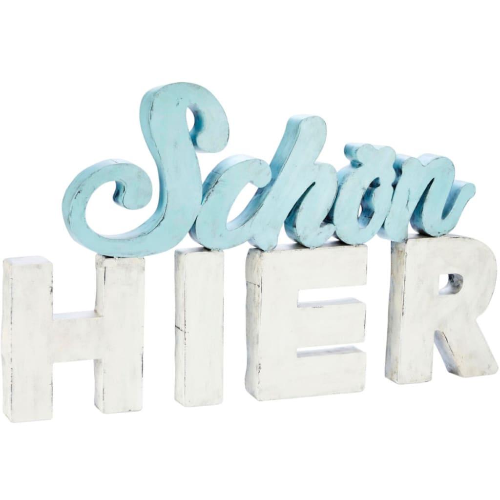Schneider Wanddekoobjekt »Schriftzug«