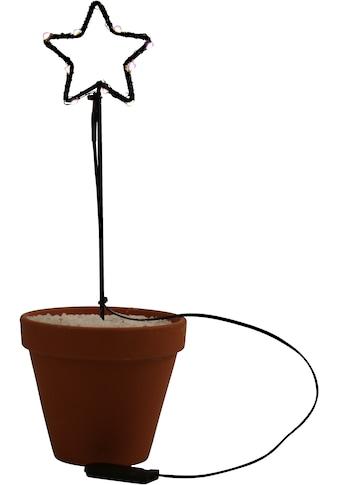 AM Design LED Stern, 4 St., Warmweiß, aus Draht, 4-er Set, Höhe ca. 25 cm, für den... kaufen