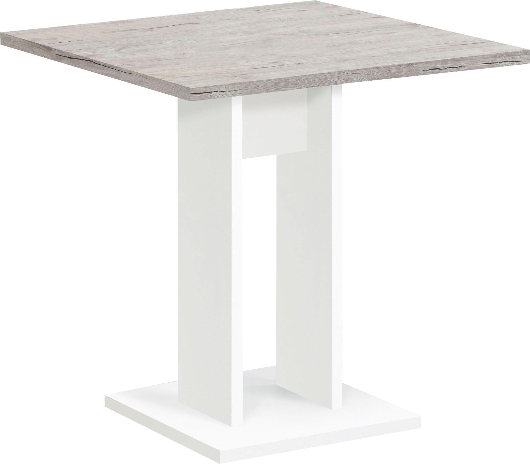 FMD Esstisch, Breite 70 cm beige Esstisch Esstische rechteckig Tische