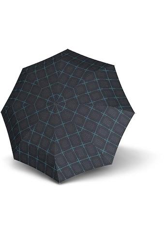 Knirps® Taschenregenschirm »T.200 Medium Duomatic, Sherlok Aqua« kaufen