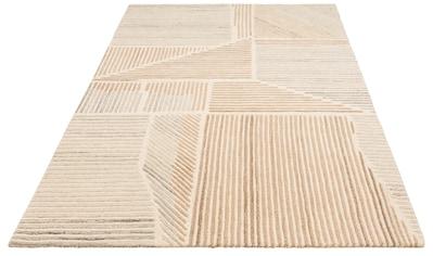 Wollteppich, »Tinus«, Theko Exklusiv, rechteckig, Höhe 14 mm, handgetuftet kaufen