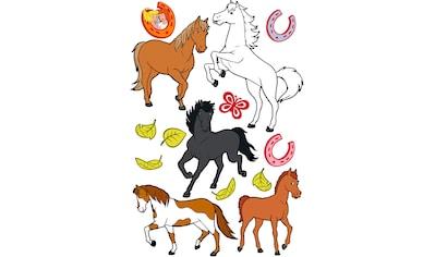 Wandtattoo »Bibi&Tina Pferdeset« kaufen