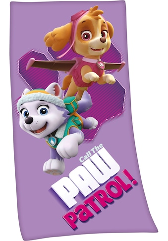 PAW PATROL Badetuch »Paw Patrol«, (1 St.), hochfarbig bedruckt kaufen