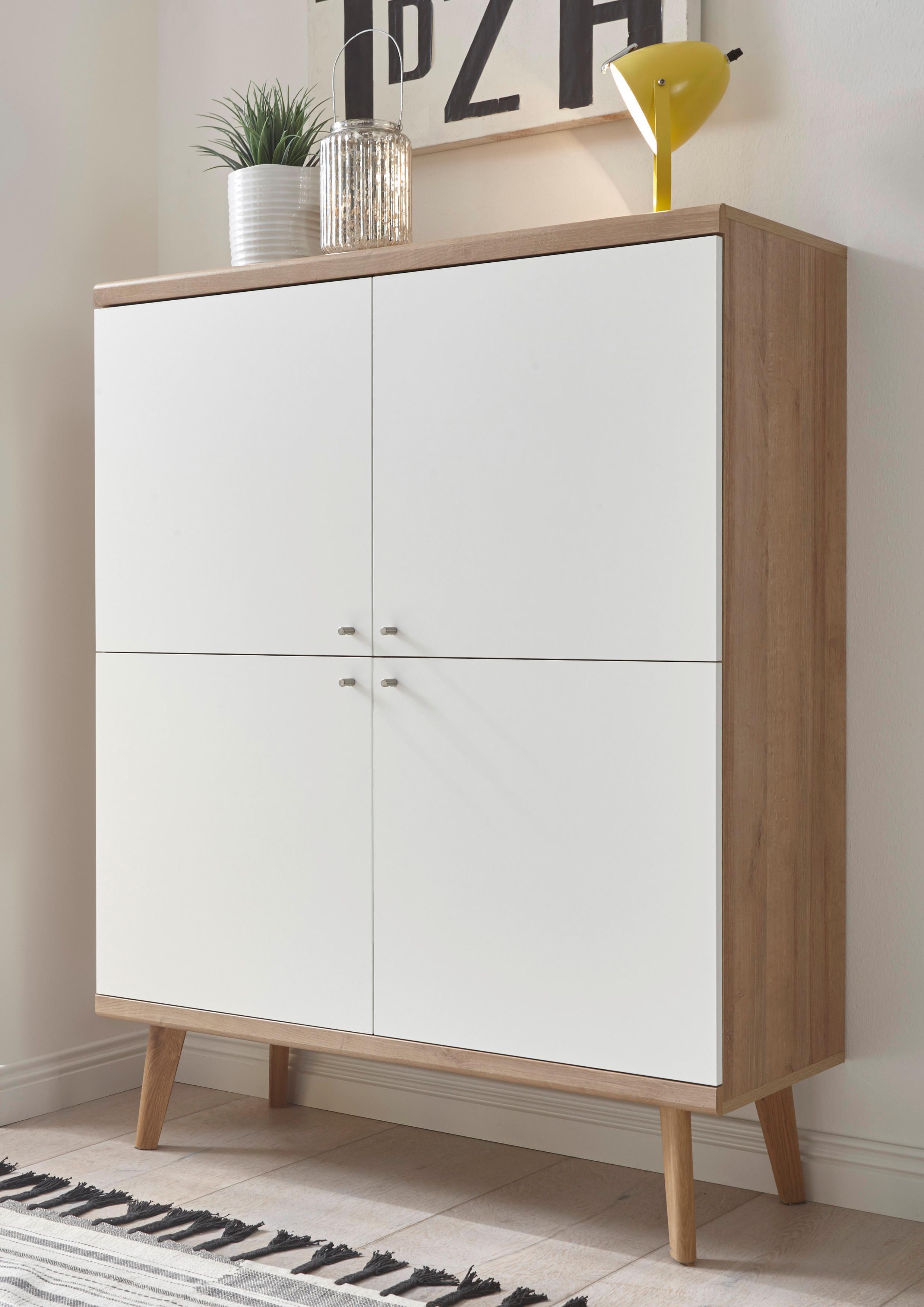 andas Highboard »Merle« im skandinavischen Design, Breite 107 cm ...